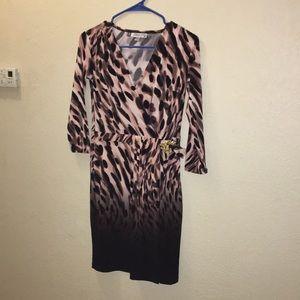Jennifer Lopez leopard dress